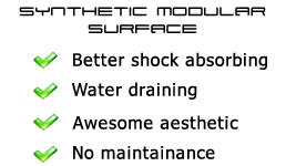 synthetic modular surface